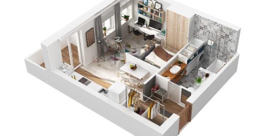 квартира на первом этаже